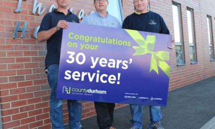 Workmen improve homes for 30 years
