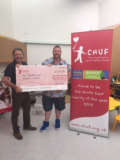 LaffaLang Gang Raise £2,100 for Children's Charity