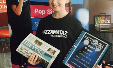 Local schoolgirl wins prestigious performing arts scholarship