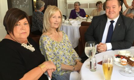 Afternoon tea treat a bucket list must for hospice patients