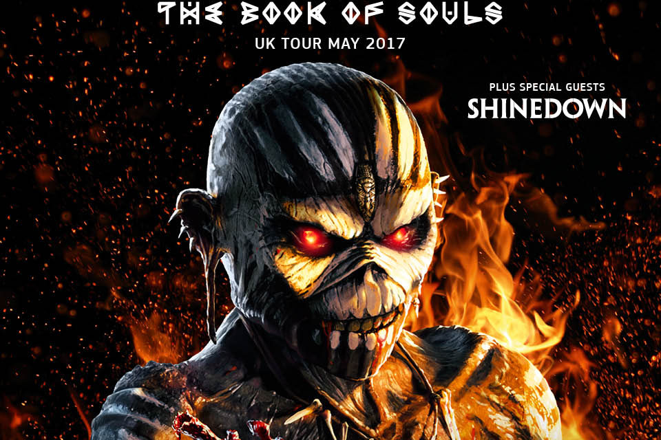 Iron Maiden Continue the Book of Souls World Tour into 2017