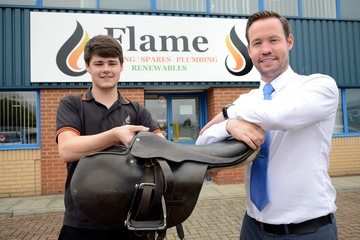Charity to be first past the post at Flame Heating Spares Race Day