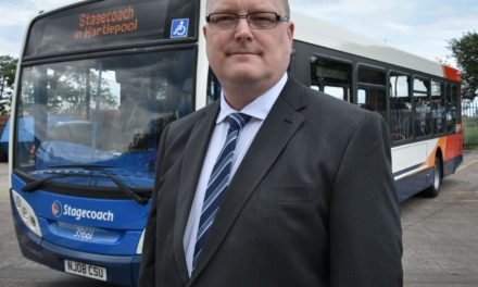 Jason Steps up to New Role at Hartlepool Bus Depot