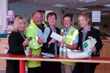 Darlington Building Society supports Redcar Street Angels project