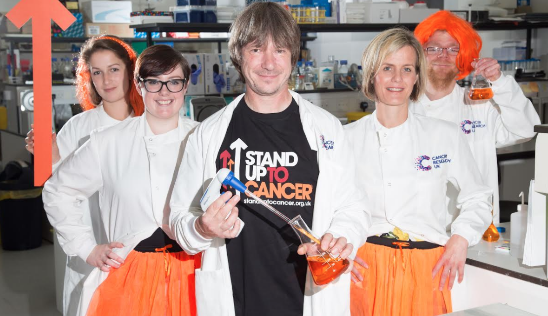 Newcastle Cancer Researchers make a stand to Help Save Lives