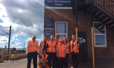 Northern's Heaton Depot Revs Up Support for The Percy Hedley Foundation
