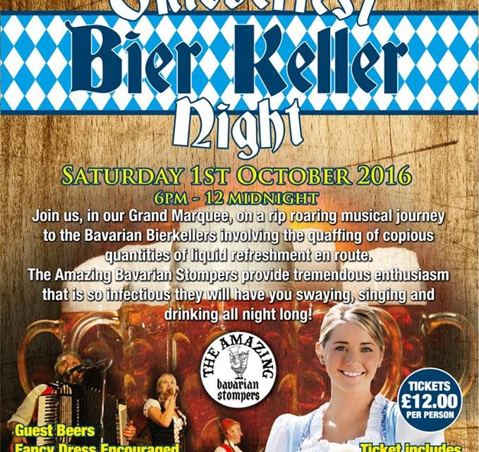 Steins at the ready as Oktoberfest heads to County Durham