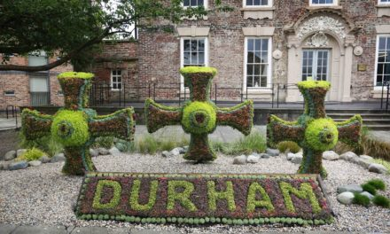 Once, twice, three times a success in Northumbria in Bloom
