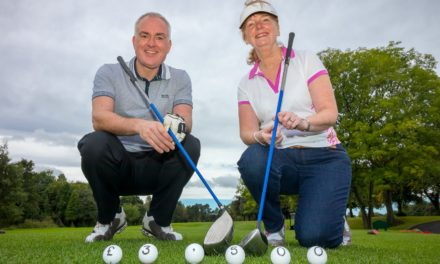 Golf Day Raises 'Fore' Figures for Children's Charity