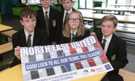 Port of Tyne Supports Schools' Football Initiative