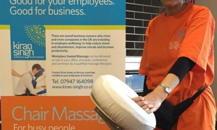 Local massage therapist calls for businesses to support their employees' backs