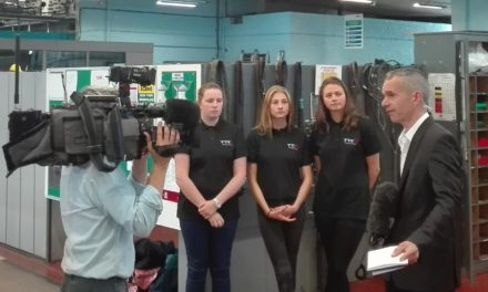 TTE Trainees take to Sky News to tell the World: Middlesbrough is a great place for Girls