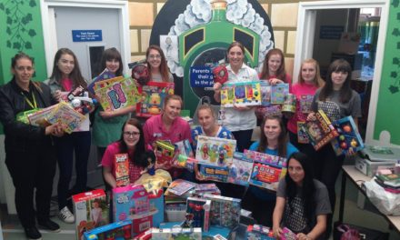 Children's ward receives a very generous donation from teens