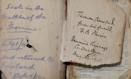 First World War Tommy's life-saving prayer book donated to the DLI Collection