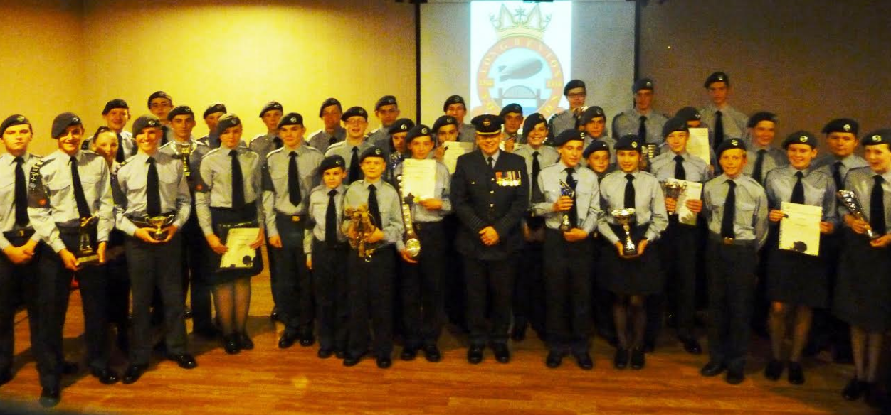Air Cadets Enjoy Praise from the Top