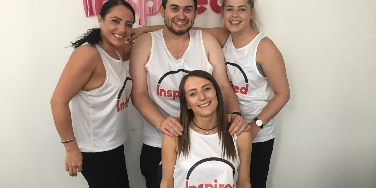 Inspired Team Limber up for the Great North Run