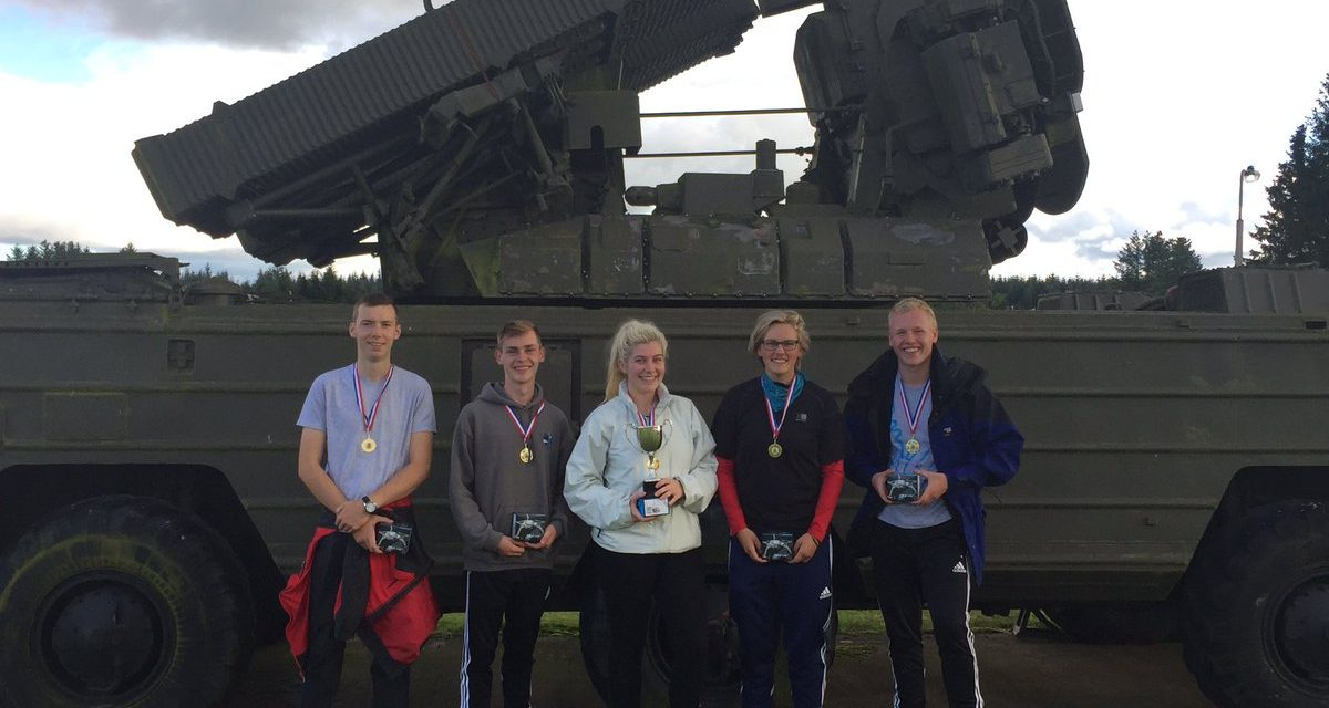 Adventure Challenge for Local Air Cadets!