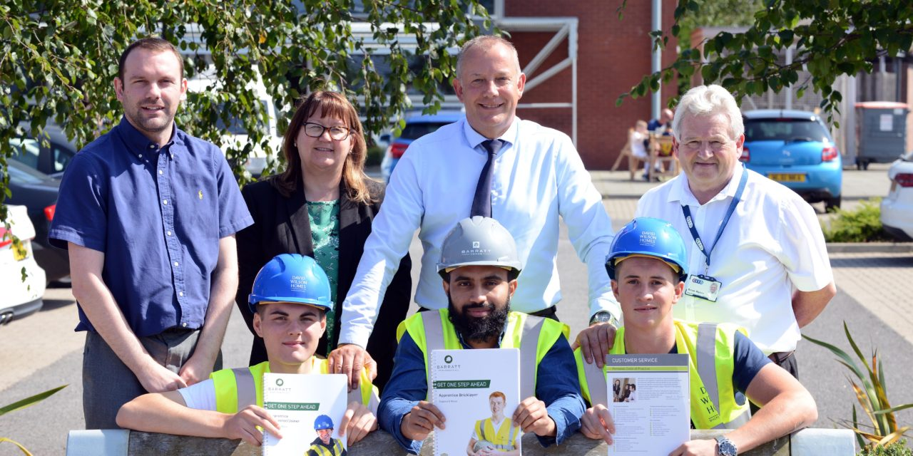 North East housebuilder supports future of the industry with apprentice intake