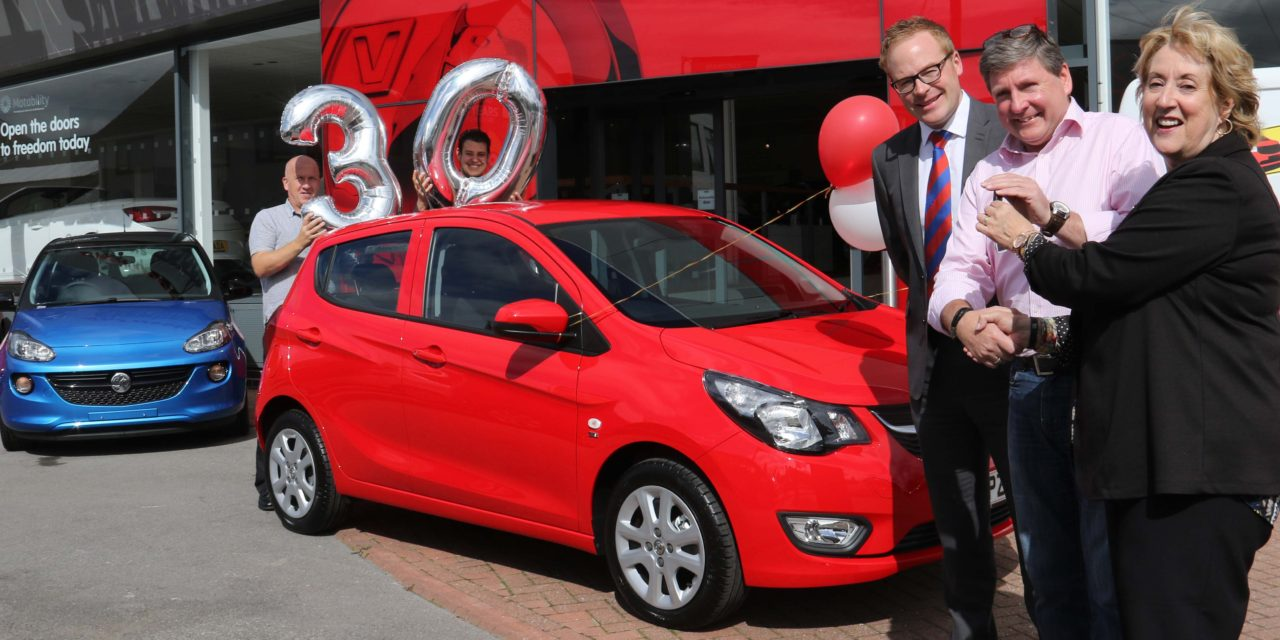 Sister memorial fundraiser wins hospice car draw