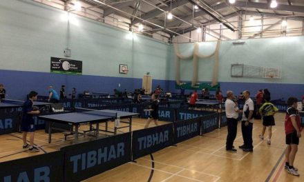 Bishop Auckland Table Tennis Club hosts National 2-star Ranking Event