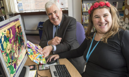 New designs for library cards launched