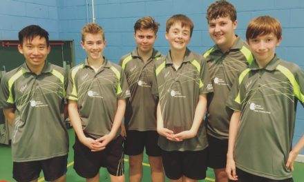 Strong League Start for Bishop Auckland Table Tennis Club