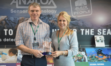 Analox win 'Best SME' at the Best Factory Awards