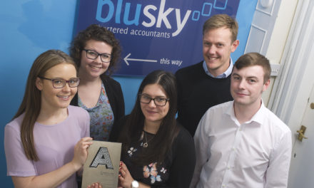 Blu Sky's business success wins Northern final of national awards
