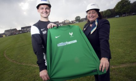 Blyth Football Club Nets Sponsorship with Leading Housebuilder