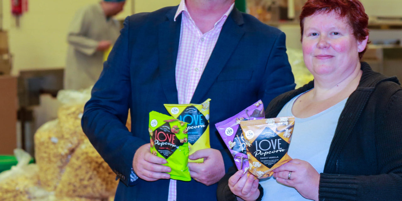 Gourmet Popcorn Manufacturer quadruples turnover following £150,000 investment from the North East Angel Fund
