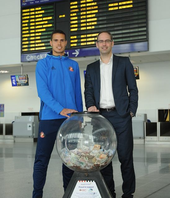 Airport extends pioneering football charity partnership