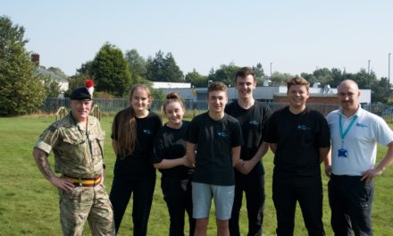 TyneMet students impress at Fifth Fusiliers Open Day