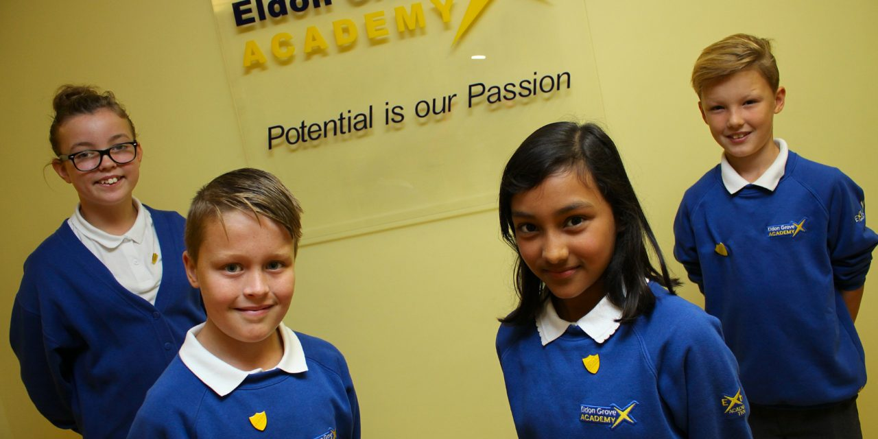 Eldon Grove Academy Appoint Head Boy and Girl