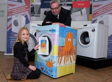 British made washer for talented County Durham eight year old after competition win