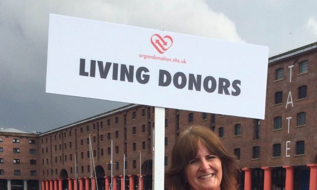 Dr Gill Owens and the World Transplant Games