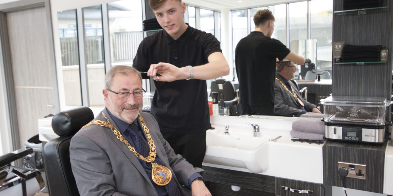 College a cut above for the Mayor