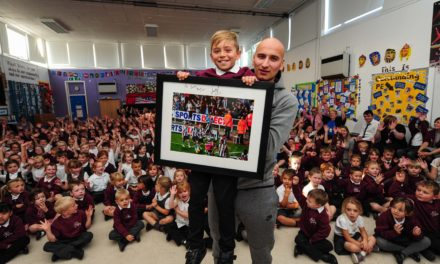 Jonjo Pays Ballboy a Surprise Visit
