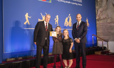 Northumberland Youngster Wins Spirit of Sport Award