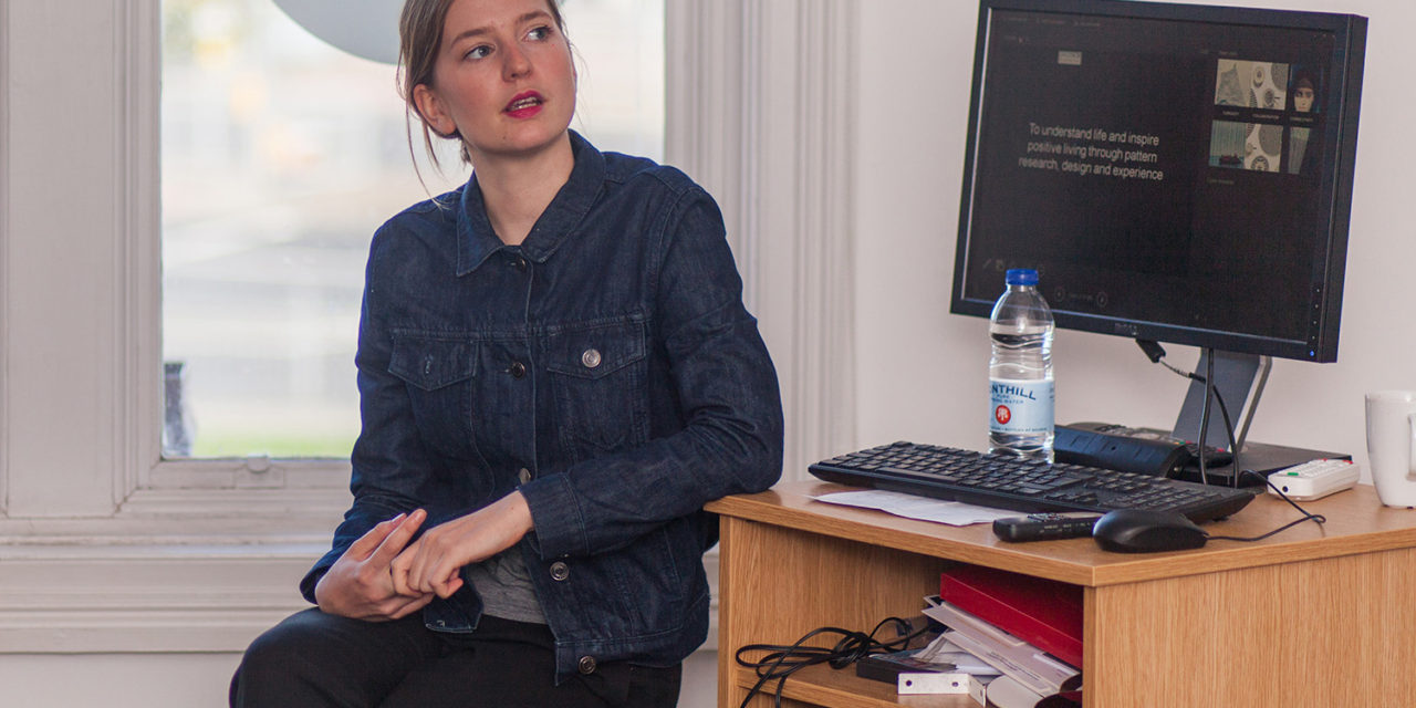 Patterns Expert Inspires Design Students with a Dazzling Display