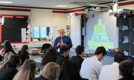 History students re-live civil rights movement