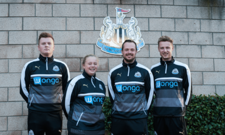TyneMet students put their best foot forward at Newcastle United Foundation