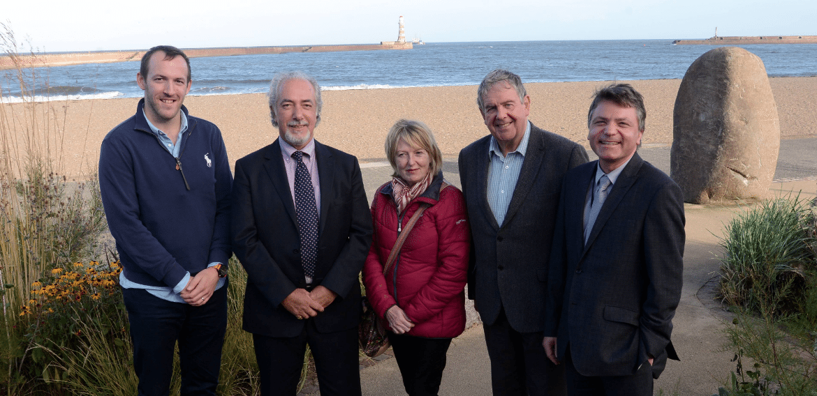 President's Visit Shine a Light on Seafront Regeneration