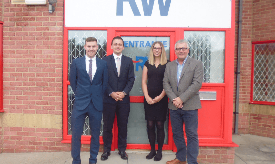 Newcastle-based Rutherford Wilkinson has hired three paraplanner apprentices to join a team of 14 advisers