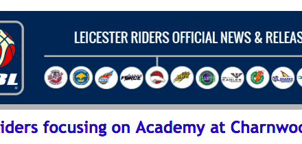 Riders focusing on Academy at Charnwood