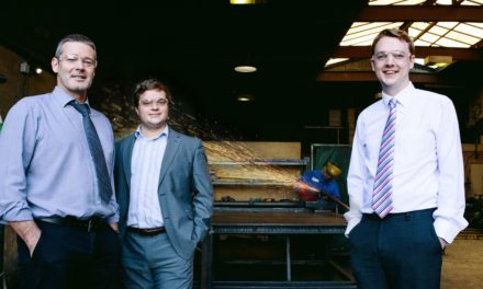 Durham-based metalwork specialists, Steelcraft safeguard 23 jobs after securing a £50,000 microloan from Rivers Capital