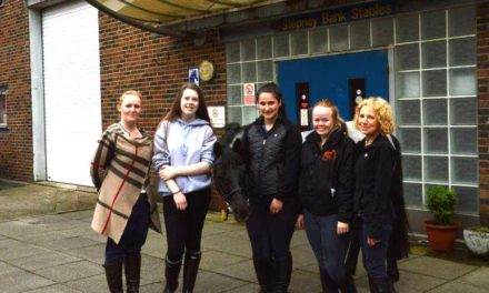Banks Group Rides in to Help Stepney Bank Stables Keep out the Cold