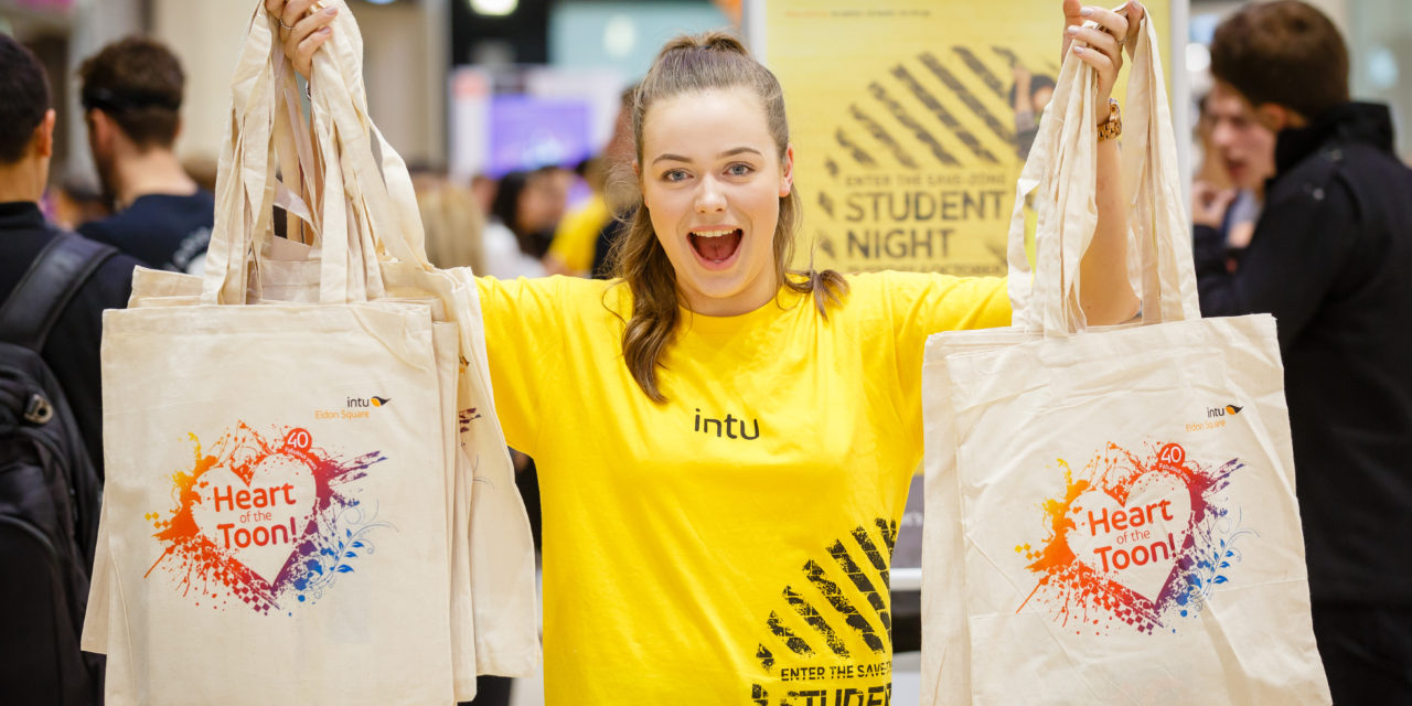 Students flock to intu Eldon Square for exclusive shopping event