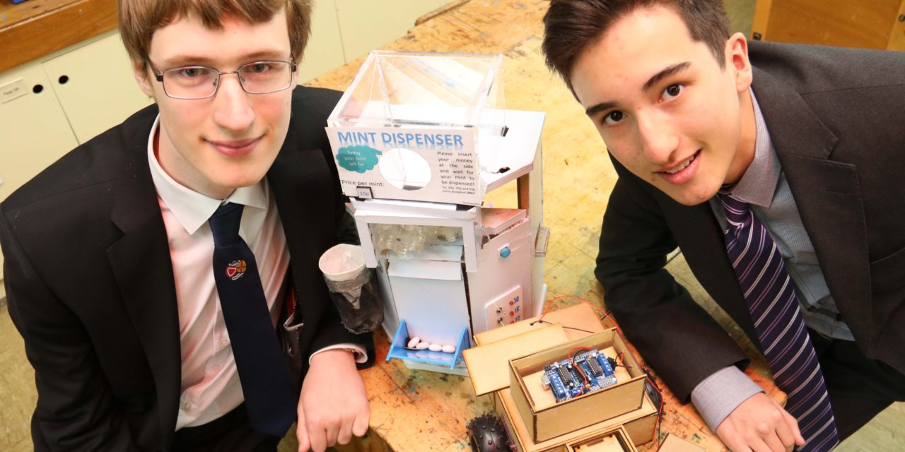Double success as students secure prestigious engineering scholarships