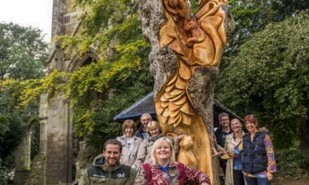 Tree Sculpture Unveiled