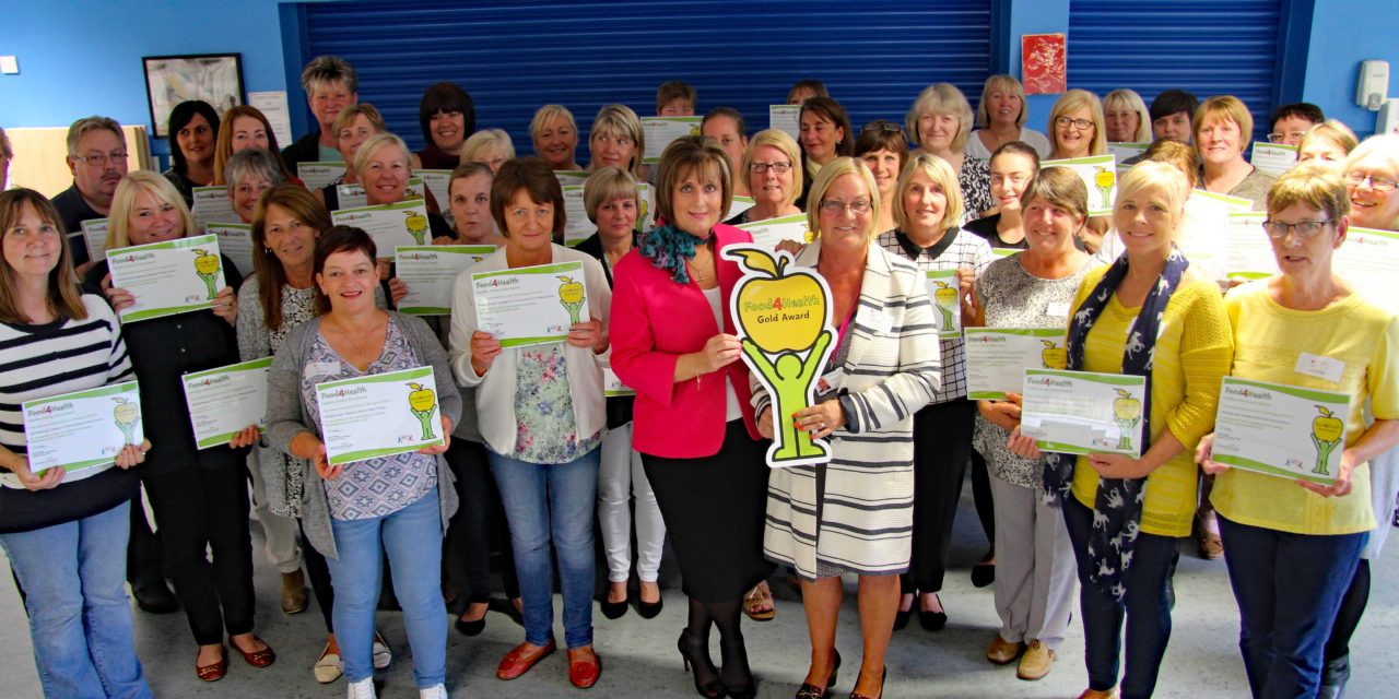 Top Healthy Eating Award for School Meals